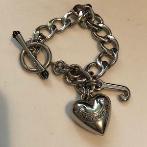 Juicy Couture Silver Charm Bracelet
